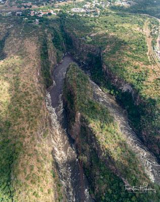 Flug über die Batoka Schlucht