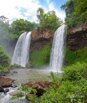 Doppelwasserfall Iguazu