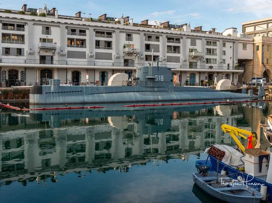 U-Boot Nazario Sauro im Meeresmuseum Galata in Genua