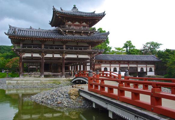Die Phönix-Halle des Byōdō-in in Uji