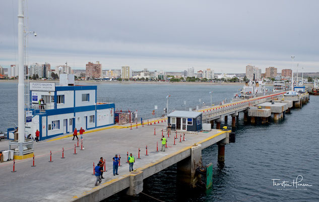Ankunft in Puerto Madryn