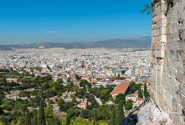 Die Römische Agora (auch Römisches Forum) war ein Platz im antiken Athen. Agora (griechisch ἀγορά) bezeichnete im antiken Griechenland den zentralen Markt- und Versammlungsort einer Stadt.
