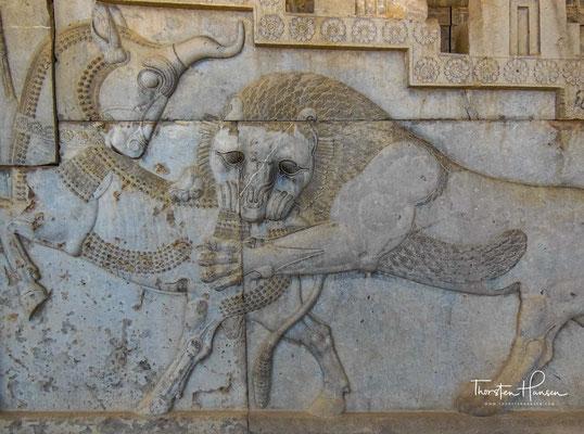 Schlägt der Löwe den Stier, vertreibt er ihn. Sie interpretierten das als Beginn des Frühlings. Das Sternkreiszeichen Löwe siegt über das Sternbild des Stieres.
