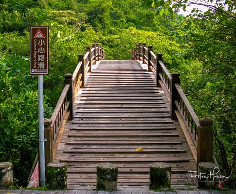 """Der Nationalpark Kenting wird oft als der """"erste"""" oder """"älteste"""" Nationalpark Taiwans bezeichnet. Tatsächlich hatten jedoch bereits die Japaner während ihrer Herrschaft über Taiwan im Norden und Osten der Insel drei Nationalparks eingerichtet."""