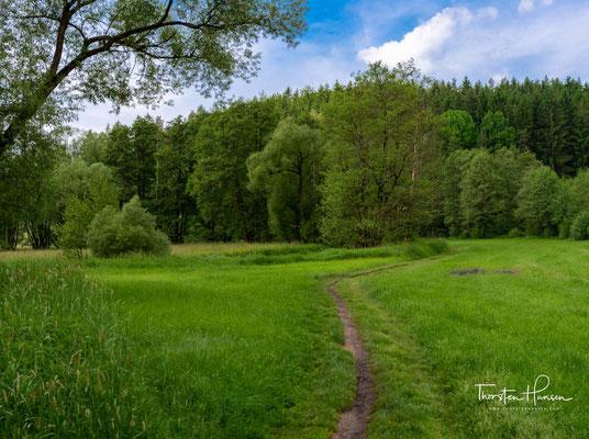 Das Schutzgebiet erstreckt sich von der Hammermühle bis zur Mündung des Frombaches.