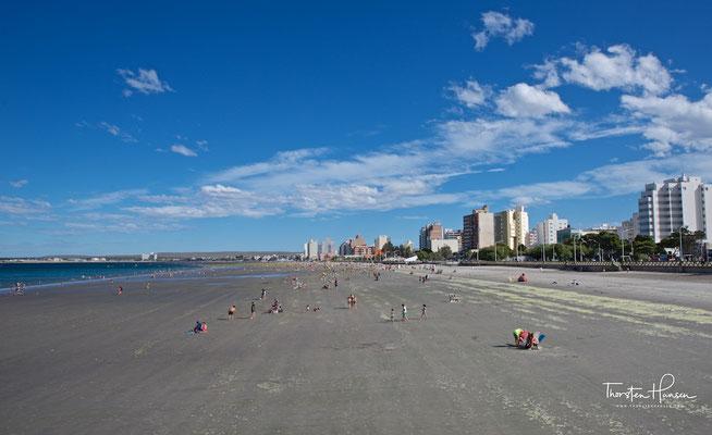 Strand von Puerto Madryn