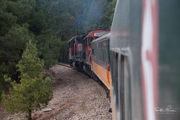 El Chepe Zug durch den Kupfer Canyon
