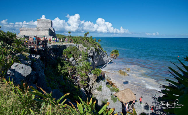 Tempel des Windes in Tulum