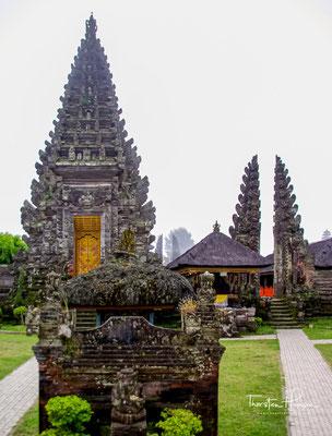 Der Pura Ulun Danu Batur ist ein weitläufiger Tempel-Komplex und besteht aus insgesamt neun Einzeltempeln.