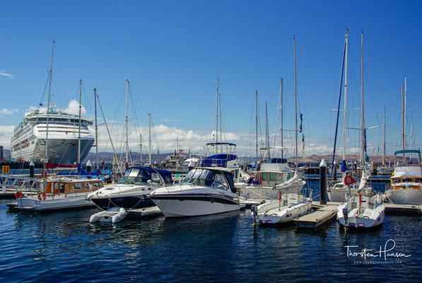 Hafen von der Hauptstadt Hobart