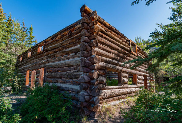 Montague Roadhouse am Klondike Highway