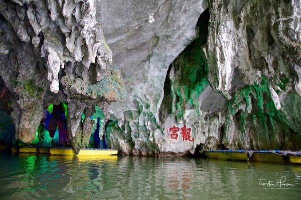 Höhle des Drachenpalastes - Longgong-Dong Höhle