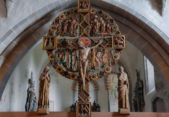 Triumphkreuz der Kirche von Öja auf Gotland