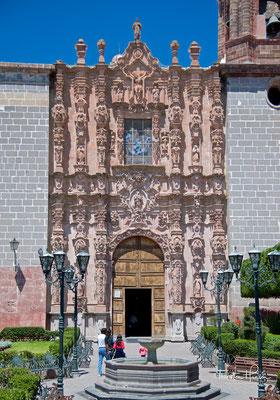 Kirche San Francisco, im Churriguera-Stil erbaut