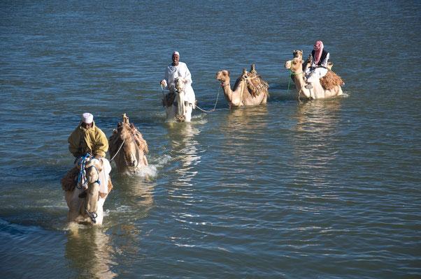 Nilüberquerung der anderen Art