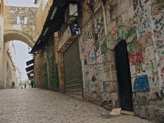 Der Ecce-Homo-Bogen in der Via Dolorosa