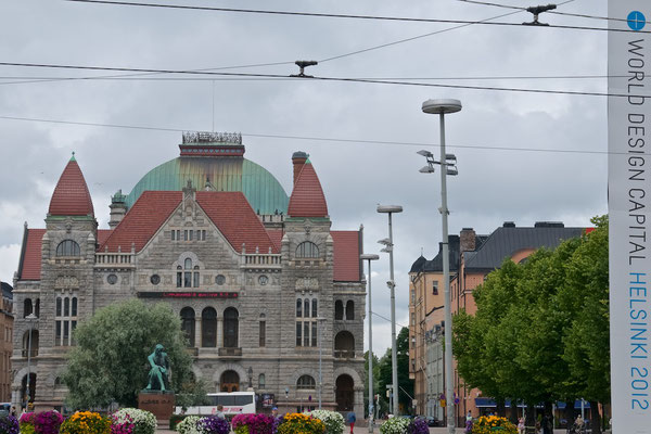 Finnisches Nationaltheater in Helsinki