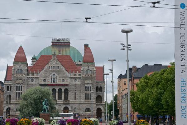 Finnisches Nationaltheater in Helsinki