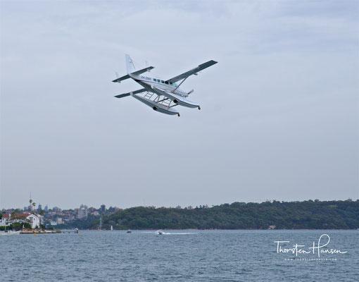 Landung in der Rose Bay