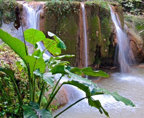Die Cataratas de Agua Azul (Wasserfälle des blauen Wassers)
