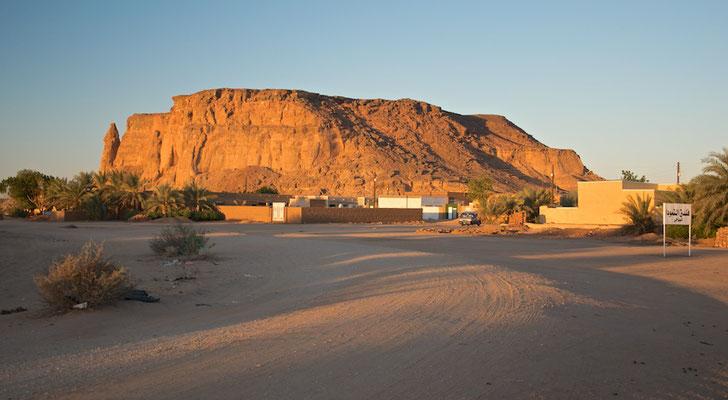Der heilige Berg Jebel Barkal