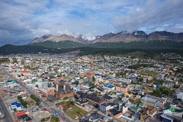 Die Nähe zum Feuerland-Nationalpark und die einzigartige Natur der Umgebung verhalfen Ushuaia zu einem erheblichen Touristenaufkommen.
