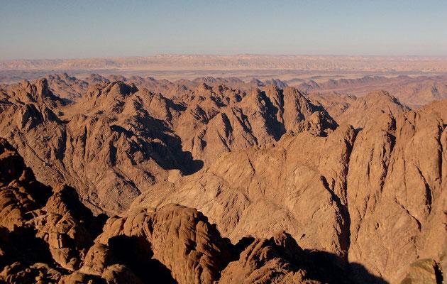Umgebung des Berg Sinai