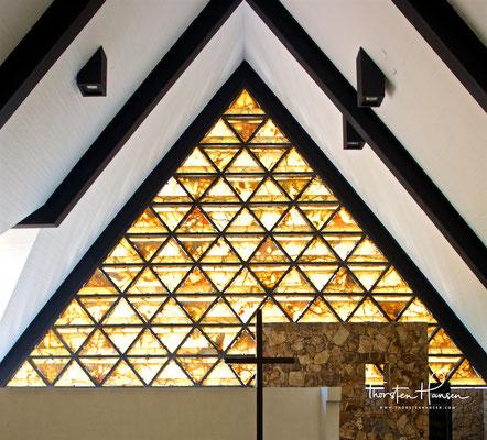 Die Kapelle wurde zu Ehren der Familie Trouyet erbaut