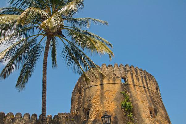 Die alte Festung Fort von Stone Town