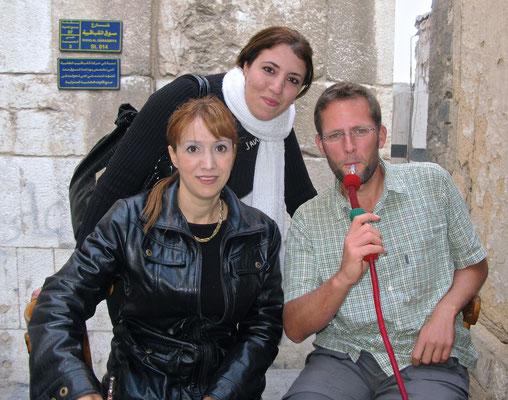 Shisha in Damaskus