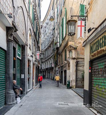 Viele Italiener ziehen hier aus und überlassen die z.T. halbverfallenen Häuser den Gastarbeitern aus Nord- und Zentralafrika
