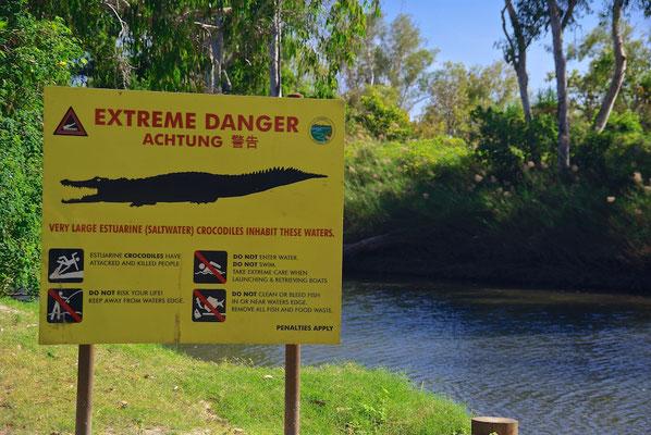 Vorsicht Krokodile