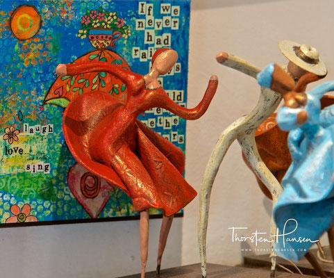 Salsa Tänzer Kunsthandwerk