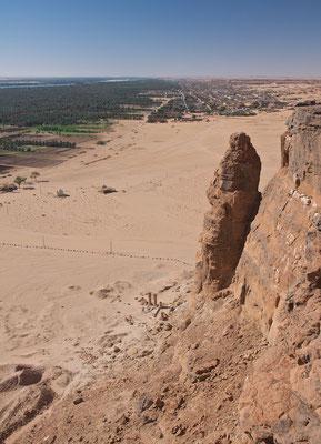 Blick vom Jebel Barkal