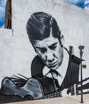 Graffitis uruguayischer Künstler