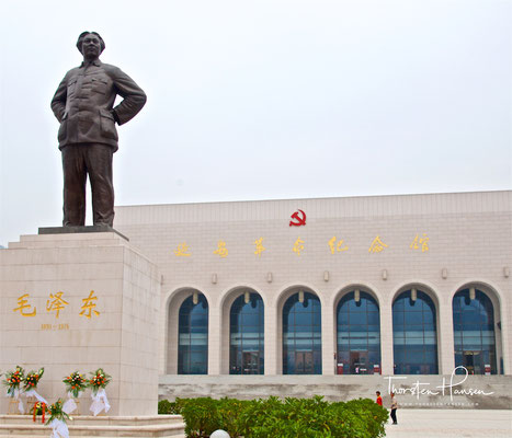 Revolutionsmuseum in Yan'an, Shaanxi