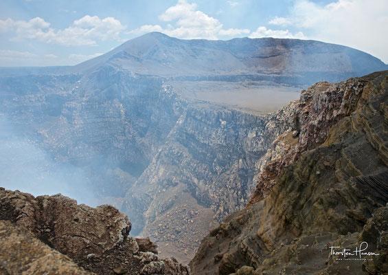 Der Vulkan Masaya liegt inmitten der 6 mal 11 km großen Masaya-Caldera und in der Nähe der gleichnamigen Stadt in Nicaragua. Er befindet sich im Nationalpark Vulkan Masaya.