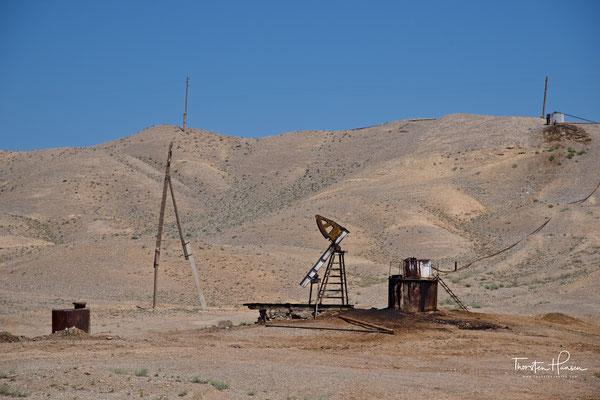 Ölförderung in Tajikistan
