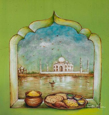 Little India Arcade es handelt sich um eine Ansammlung von Läden, ayurvedischen Praxen, Verkaufsstellen mit Süßigkeiten, Schmuckläden usw.