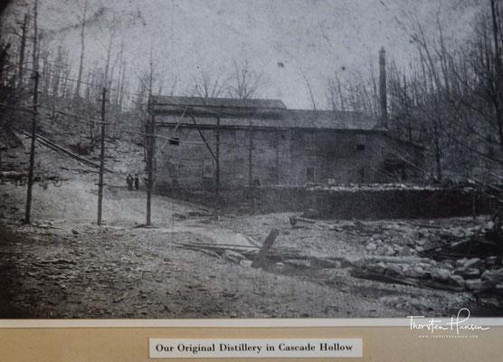 Er produzierte seinen ersten Whisky im Jahr 1870.
