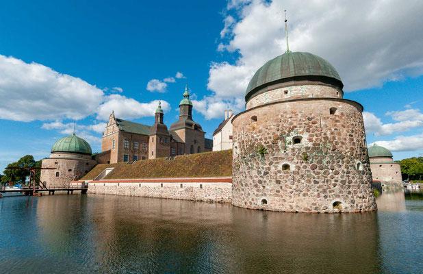 Gustav Wasa Wasserschloss Vadstena Slott