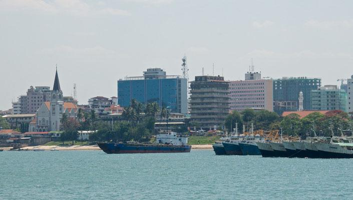 Hafen von Daressalam