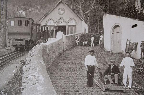 Toboggan-Schlitten in Funchal