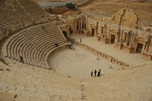 Nordtheater in Jerash