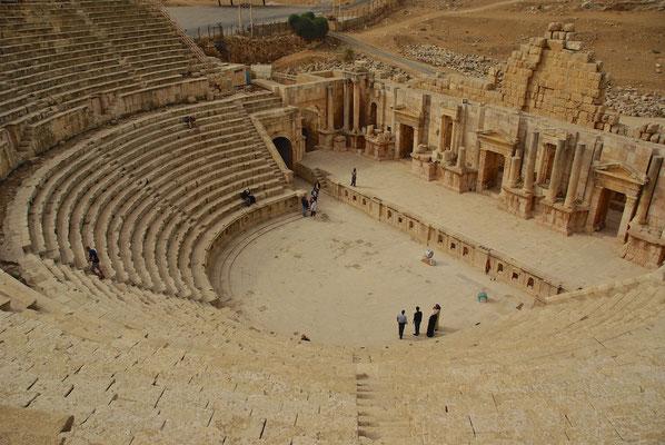 Nordtheater in Jerash