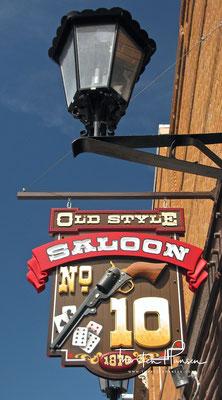 Im Saloon Nr. 10 wurde Wild Bill Hickok erschossen