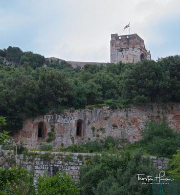 Die Maurenfestung auf dem Felsen von Gibraltar