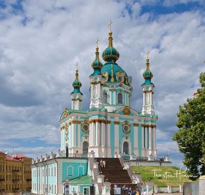 Die St.-Andreas-Kirche (ukrainisch Андріївська церква) befindet sich auf einer der ältesten Straßen der Stadt am Anfang des Andreassteigs im Zentrum Kiews, der Hauptstadt der Ukraine.