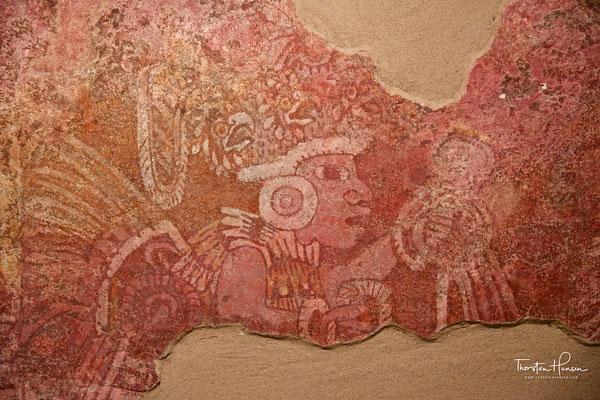 Wandmalerei in Wohnkomplex Tepantitla