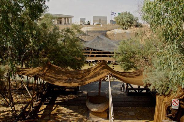 Grenze zwischen Israel und Jordanien